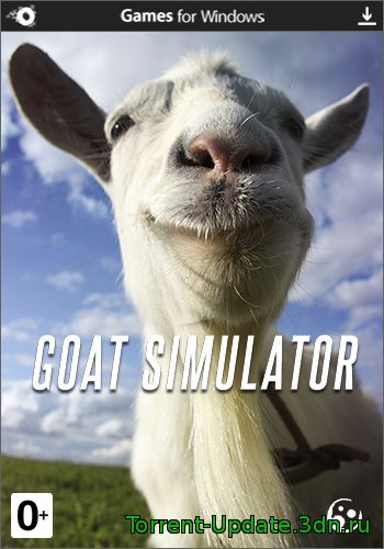 Симулятор Козла / Goat Simulator [v 1.2.34870] (2014) PC | Steam-Rip от R.G. Origins